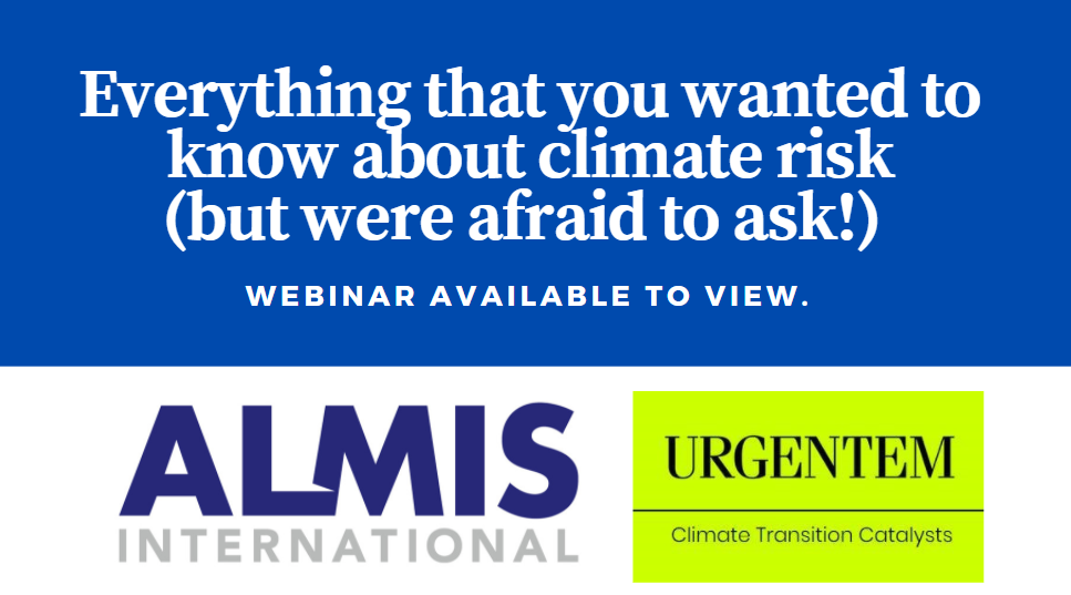 Everything that you wanted to know about Climate Risk (but were afraid to ask!)